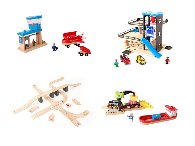 PLAYTIVE®JUNIOR Set de jeux en bois